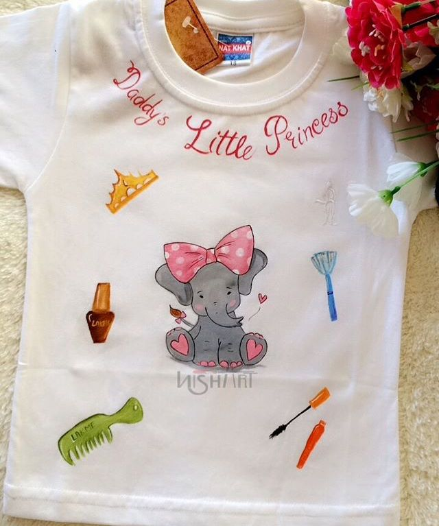 Baby Clothes Hand Painted Dress Baby Dress Design Embroidery Blouse Designs