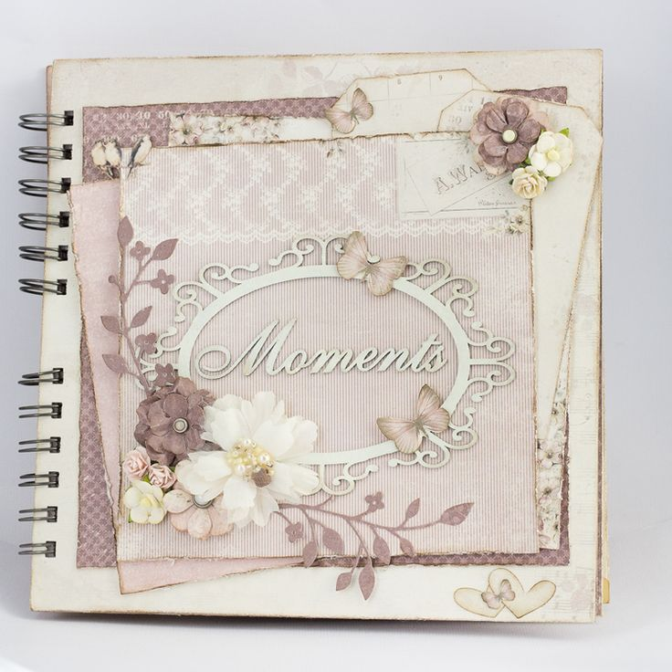I love mini albums but they're so time consuming that I rarely finish them. I wanted to make a mini for some of my wedding pictures that were not included in the official album, and I thought Flower Frames and Studio of Memories collections would be perfect for that!Blue shades of the Studio of…