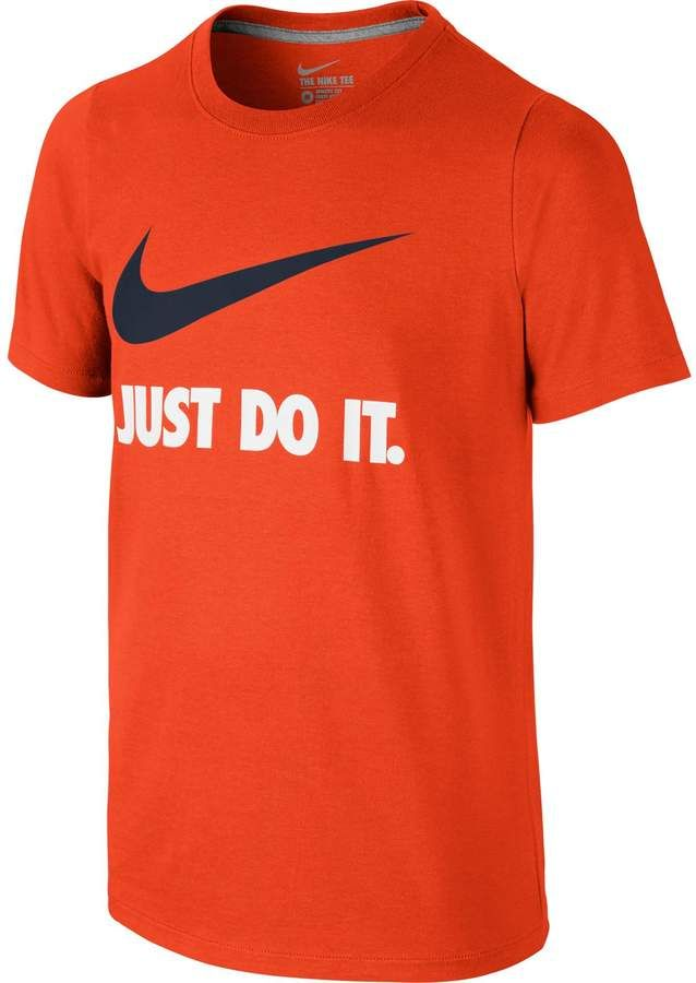 e55c56ce Boys 8-20 Nike Just Do It Swoosh Graphic Tee in 2019 | Athletic ...