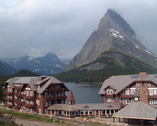 Many Glacier Hotel ~ Glacier National Park