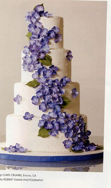 Hydrangea Cake BB S08 by ccliang80, via Flickr