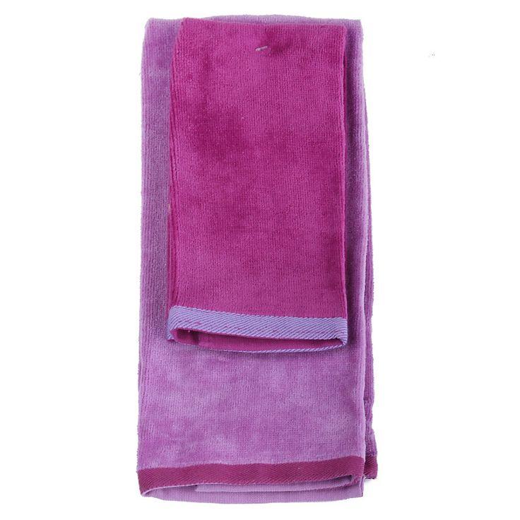 Set 2 toallas lilas-Sodimac.com