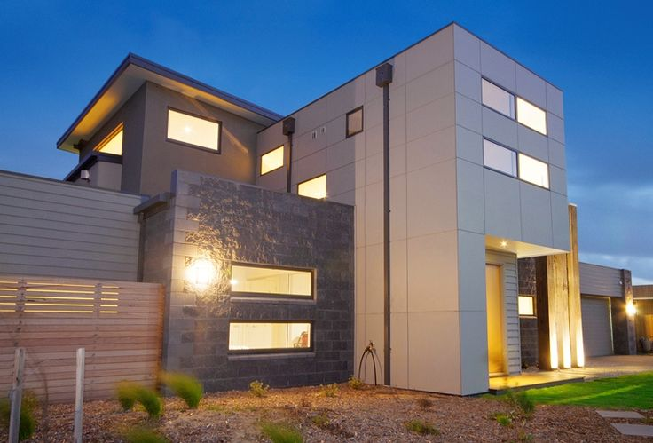 Built by Pivot Homes - James Hardie Scyon Matrix gives a great visual impact for this house.