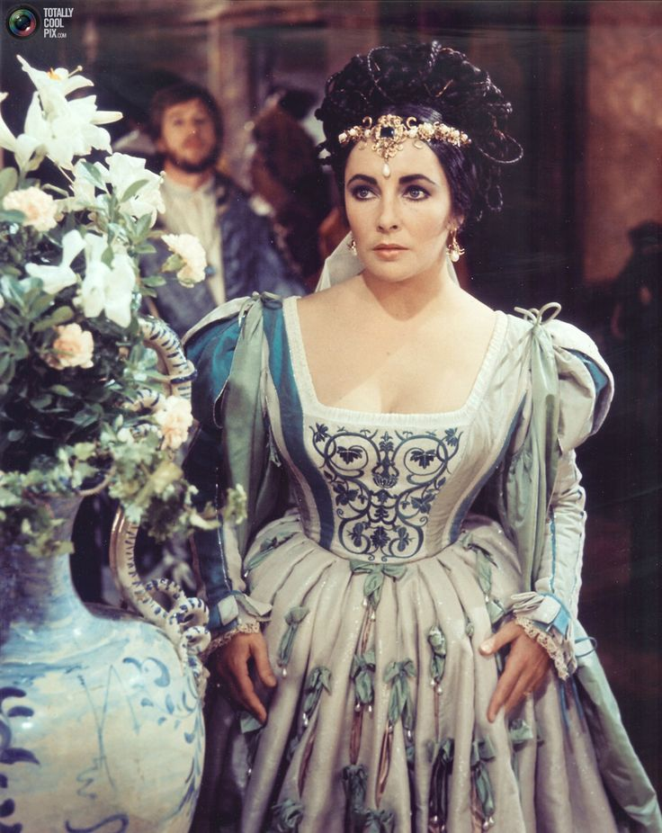 Actress Elizabeth Taylor is shown in a scene from her 1967 ...