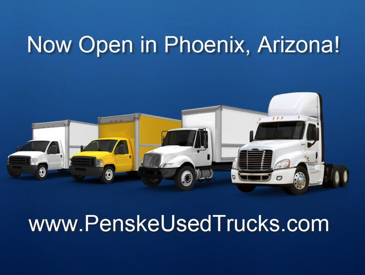 Penske Used Trucks has opened a commercial truck dealership in Phoenix. Used light-, medium- and heavy-duty trucks, trailers and related equipment will be sold from this 2.3 acre facility, at 2219 South 2nd Place. The center is open 8 a.m. to 5 p.m., Monday through Friday. For local sales inquiries call 1-855-527-2320.  Penske sells top commercial vehicle brands including Ford, GMC, Hino, Isuzu, Freightliner, International, Peterbilt and Volvo. #trucking #usedtrucks #trucks #penske