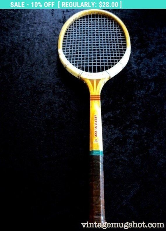 Vintage Dunlop Maxply Fort Tennis Racquet Leather Grip Gut Made In England Howtoplaytennis Tennis Racquet Tennis Tennis Crafts
