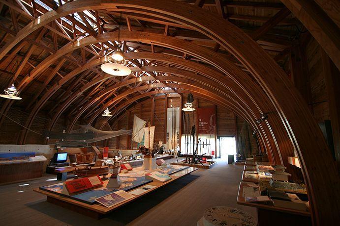 海の博物館 展示B棟 TOBA SEA-FOLK MUSEUM