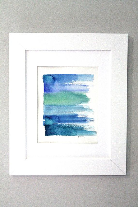 Abstract Watercolor Abstract Painting by sandraculliton