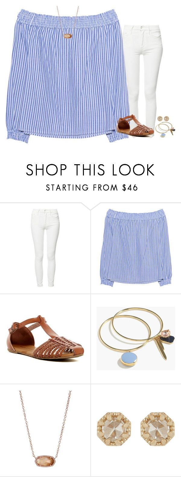 """I had chick-fa-la for the first time yesterday"" by stripedprep ❤ liked on Polyvore featuring Mother, rag & bone, Rock & Candy, J.Crew, Kendra Scott and Grace Lee Designs"