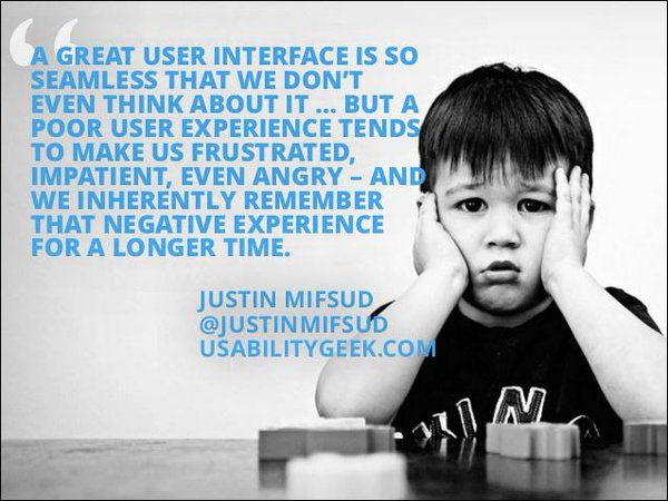A user's experience should be so good it feels natural, and they don't even realize how good it is.