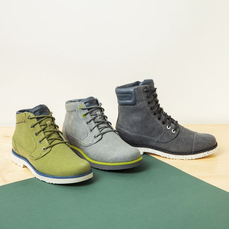 Boots season is the best season. Get your hands on a pair of Teva Men's Durban Waxed Canvas work boots. A pop of color will take your outfit to a new level this Fall.
