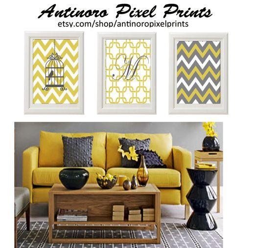 23 best Grey citron images on Pinterest | Living room, Color ...