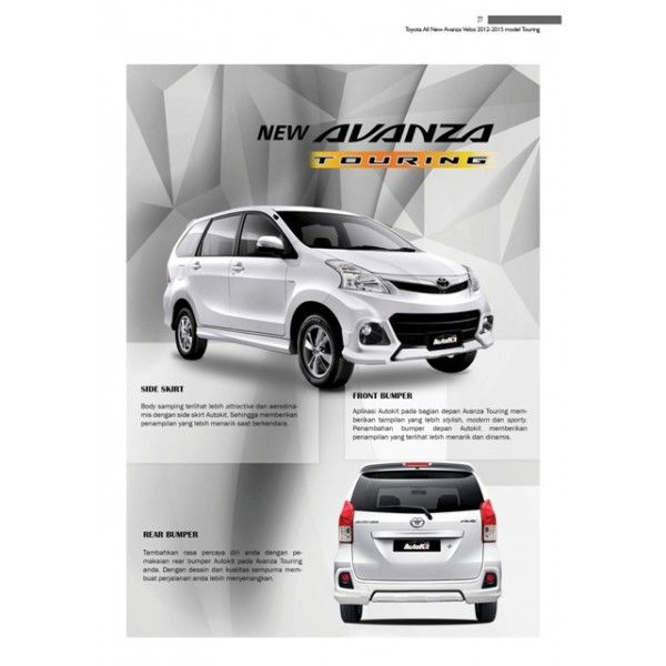 Bodykit Toyota All New Avanza Veloz