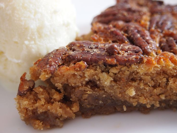 Maple-Pecan Crustless Pie | Gluten Free Dessert | Pinterest