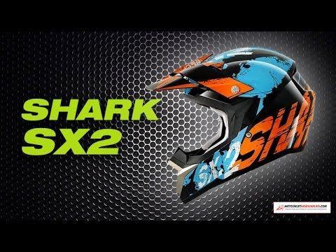 Shark Cross Kask - SX2 Freak Turuncu Mavi Siyah hakkında