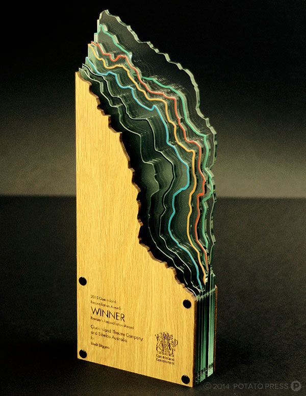 QLD 2015 Premier's Reconciliation Award Potato Press