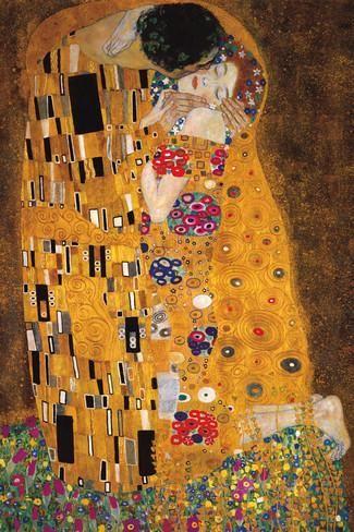 The Kiss (Der Kuss) Photo by Gustav Klimt at AllPosters.com