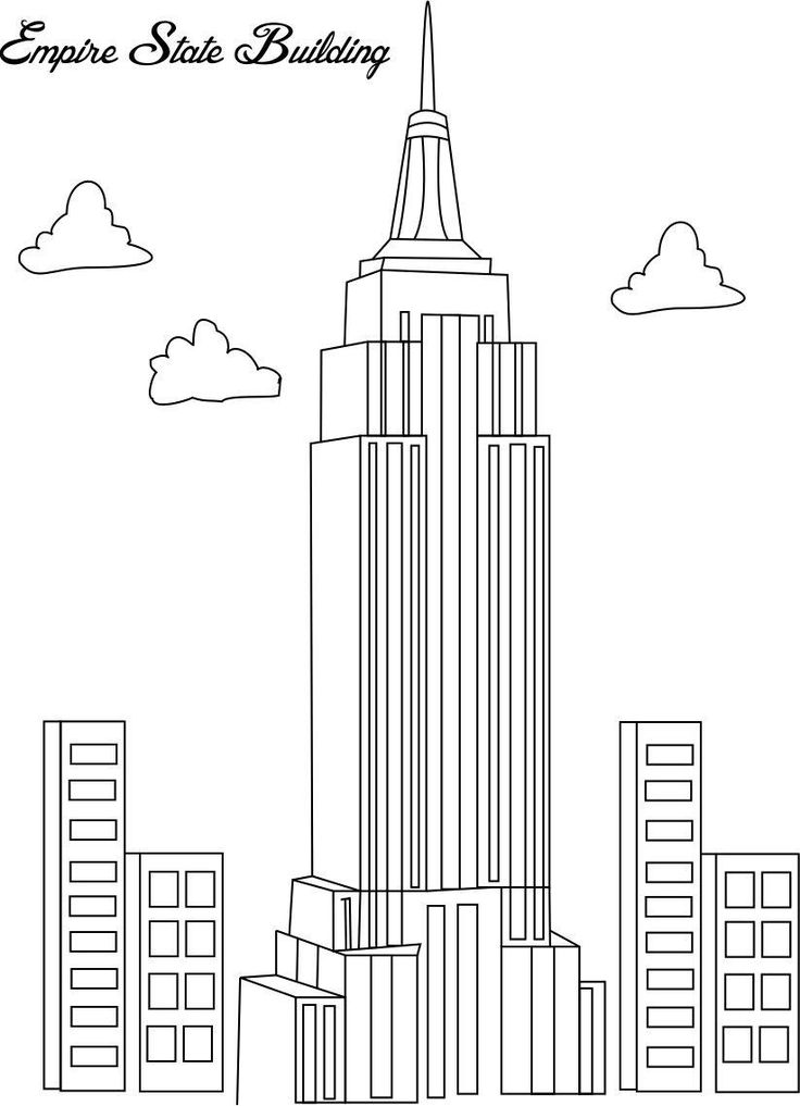 129 best Drawspiration Buildings images on Pinterest Coloring
