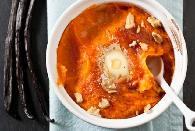 Recipe To The Delicious Vanilla Bean Mashed Sweet Potatoes At Home