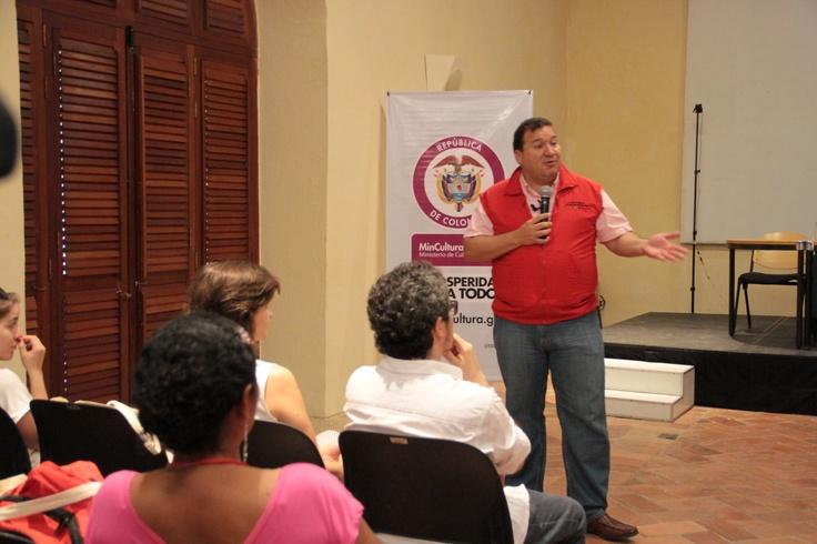 Roberto Zapata, gerente de Colombia Humanitaria