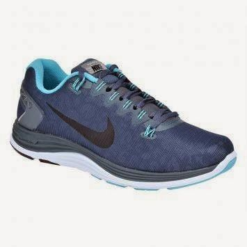 Nike 615969-404 Sepatu Lari Lunarglide+ 5 Shield - Abu-abu | Sports and Music