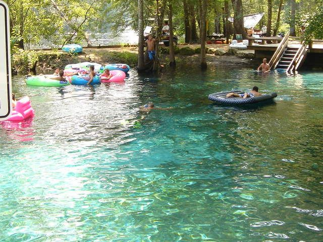 Natural Swimming Pools Ginnie Springs Fl Must Go There