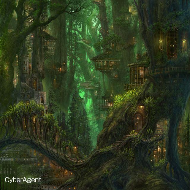 Fantasy CG digital art fairy
