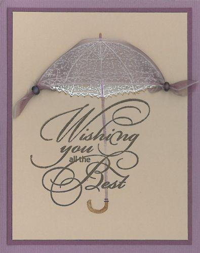 Stamp-it Australia: 4456E Parasol, 4521E Wishing You - Card by Susan