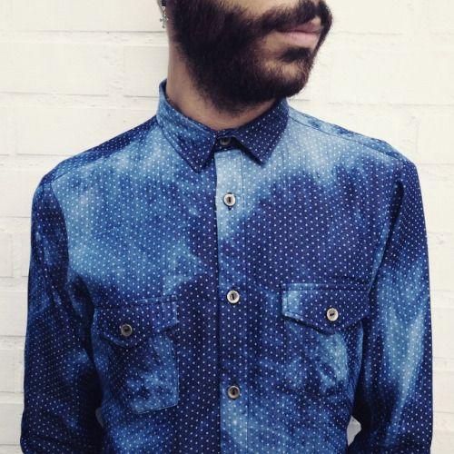 Nuevas camisas manga larga en índigo. Este diciembre compra local. #belikepardo  (at Pardo)