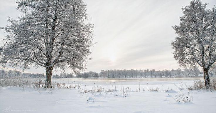 Motala Ström, winter