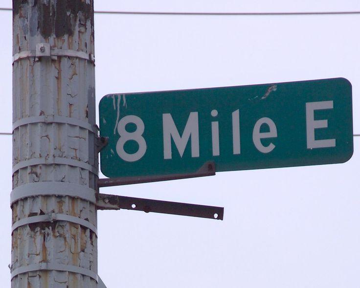 8 Mile Road Detroit Michigan