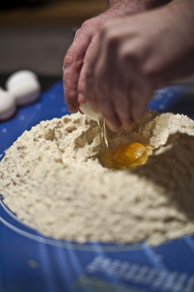 Egentillverkad pasta – recept