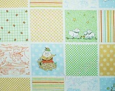 Mary Engelbreit Fabric Nursery Rhyme Patchwork by NsewFabrics