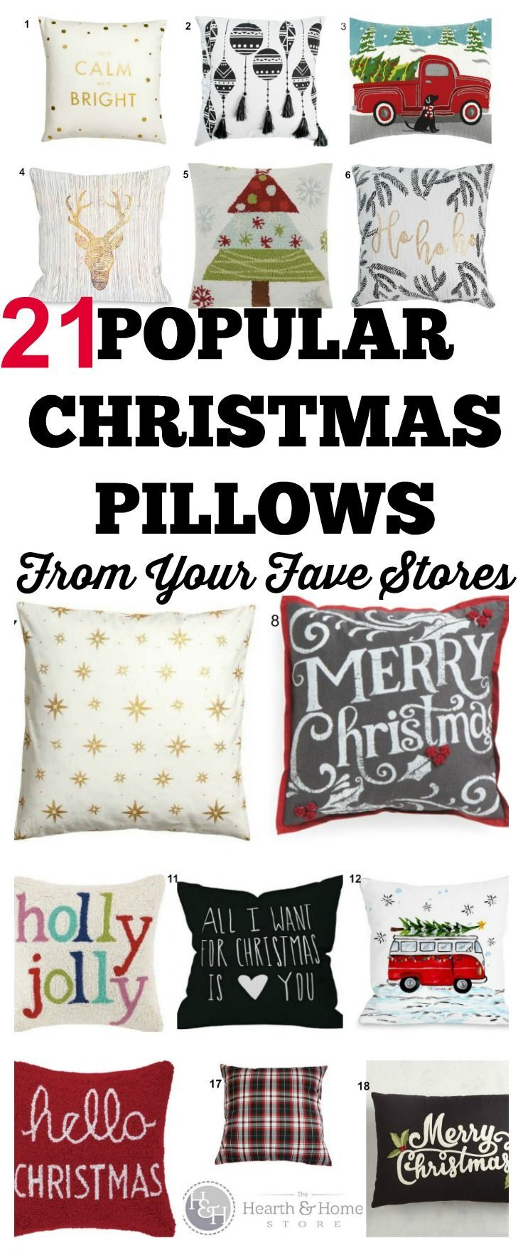 Pillows On Sale At Target 21 Of The Hottest Christmas Pillows By Your Favorite Shops All
