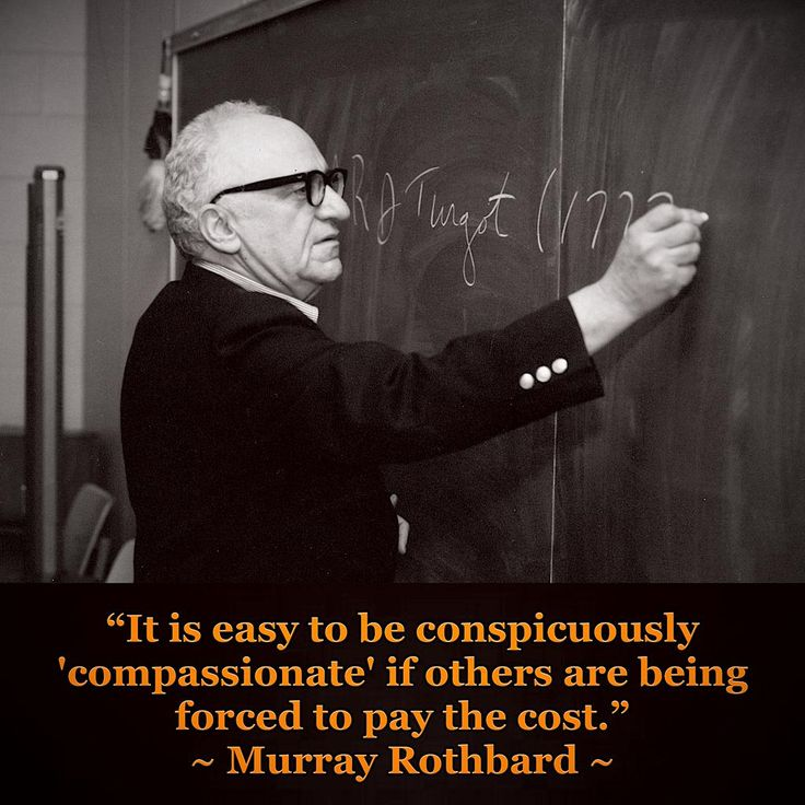 The 108 best Murray Rothbard images on Pinterest | Political freedom ...