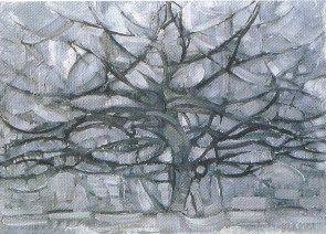 L'albero argentato; 1911; olio su tela; 78,5×107,5 cm. L'Aia Gemeentemuseum