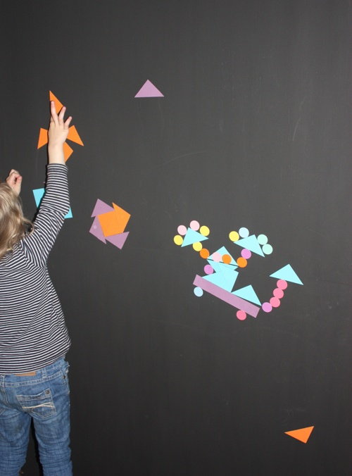 How to make a magnetic activity wall...
