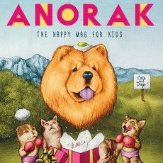 Anorak Magazine – Cover