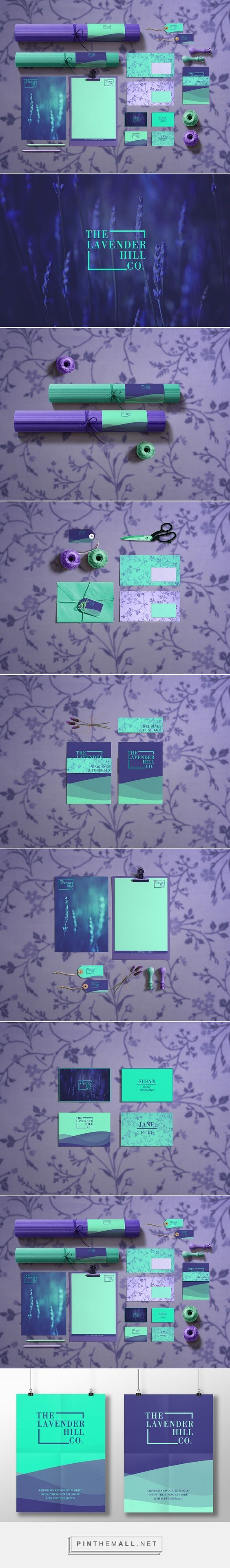 The Lavender Hill Co. Branding on Behance | Fivestar Branding – Design and Branding Agency & Inspiration Gallery