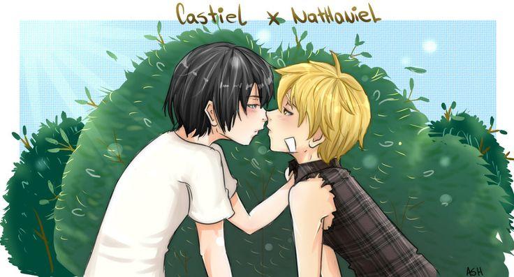 Castiel x Nathaniel by tsukiyagami ll Wie die zwei einfach derbe geshippt werden xDD