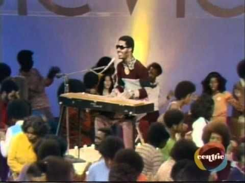 """Stevie Wonder - Soul Train _ All I have to say is... after the nice talk with Stevie...is """"Get it!"""" lol"""