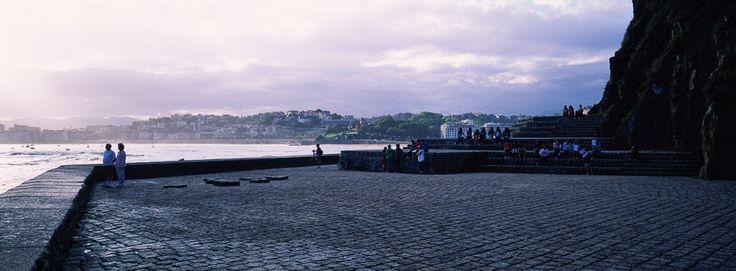 Peine del Viento y Plaza del Tenis, Eduardo Chillida con Luis Peña Ganchegui, San Sebastián, España, 1977. 风之梳和Tenis广场. Part 3. | 页 景