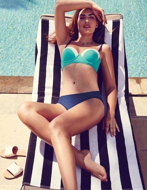 Vintage Cup Size Bikini Top WB079 Bikinis & Tankinis at Boden