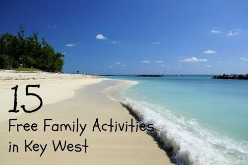 Lodging for big families in Key West can be expensive. To help your vacation budget go further, try these free activities in Key West.      Key West Nature Preserve Located on Key West's south side on the eastern end of Atlantic Avenue with two entrances, wooden walkways and trails