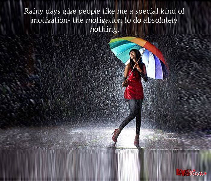 17 Best Rainy Morning Quotes On Pinterest