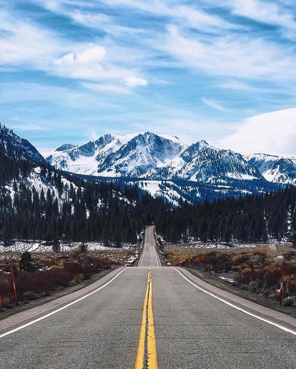 Don't be afraid to take life's little detours. June Lake near Mammoth CA | Photo by @hannahonearth by earthpix http://ift.tt/1V2uWwn - http://ift.tt/1HQJd81