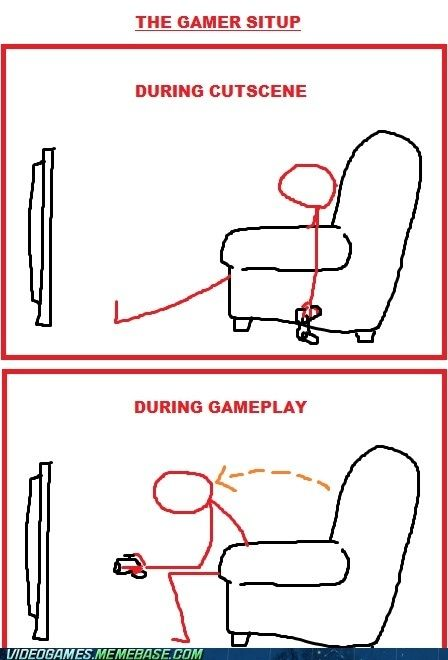 Gamer Situp - Looks about right