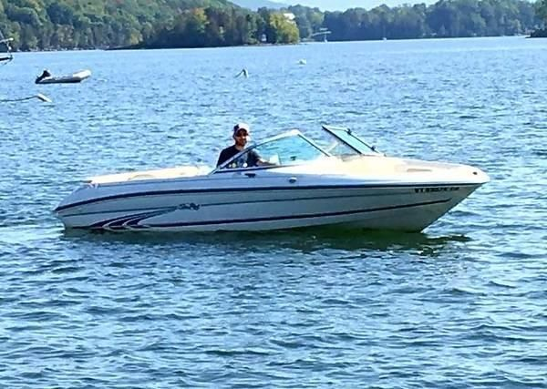 1997 Sea Ray 175 Bow Rider Burlington Vermont Boats Com Sea Ray Boat Power Boats Boat