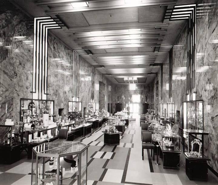 Arte Design In Los Angeles Images: Bullock's Wilshire Art Deco Department Store