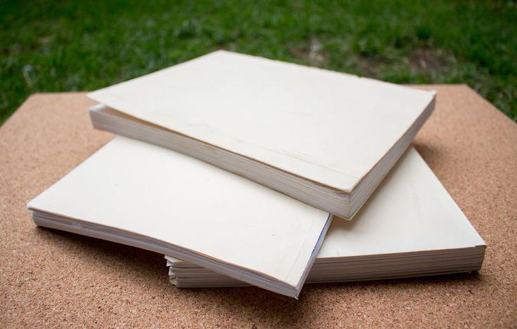 Como encuadernar hojas sueltas fácil y rápido/acabado profesional